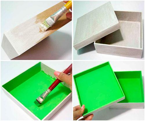 passo1 caixa tecido estampado