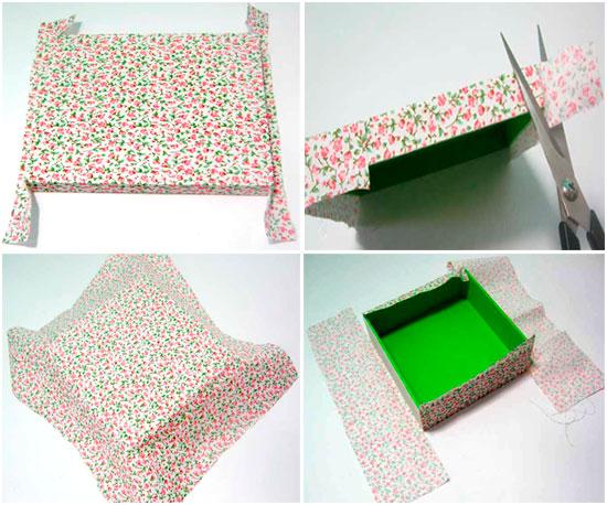 passo3 caixa tecido estampado