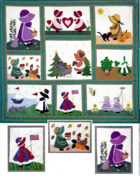 camponesas patchwork